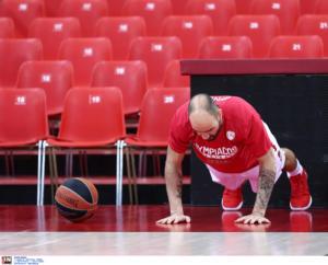 Ολυμπιακός: Στο ΣΕΦ για προπόνηση ο Σπανούλης!
