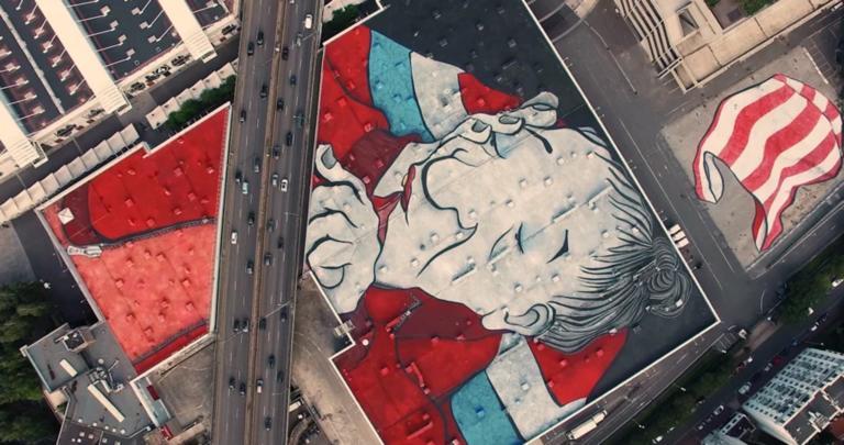 Αυτό είναι το μεγαλύτερο street art έργο στον κόσμο! [Pics]