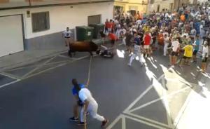 Bαλένθια: Άνδρας έχασε τη ζωή του μετά από επίθεση ταύρου σε φεστιβάλ