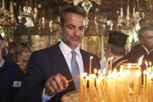Παναγία Τήνου: Μήνυμα Μητσοτάκη για την πύρινη λαίλαπα στην Εύβοια