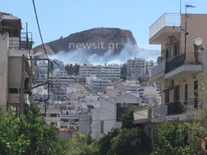 Φωτιά και στα Τουρκοβούνια
