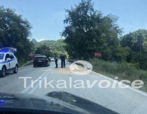 Καραμπόλα με τρεις τραυματίες κοντά στην Καλαμπάκα [pics]