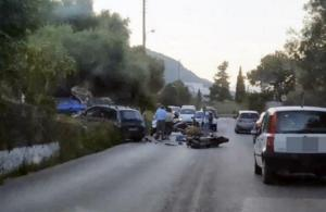 Κέρκυρα: Ένας νεκρός και τρεις τραυματίες σε σφοδρότατη σύγκρουση δύο αυτοκινήτων