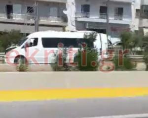 Κρήτη: Σοβαρός τραυματισμός άνδρας από βαν