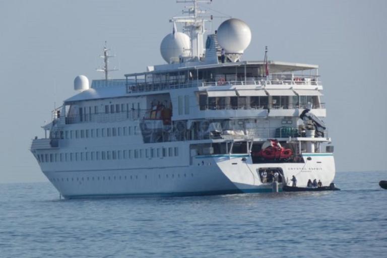 """Στα Χανιά βρίσκεται το """"κρουαζιερόπλοιο των εκατομμυριούχων"""""""