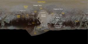 Ο Πλούτωνας απέκτησε τη δική του λίμνη Αλκυονία