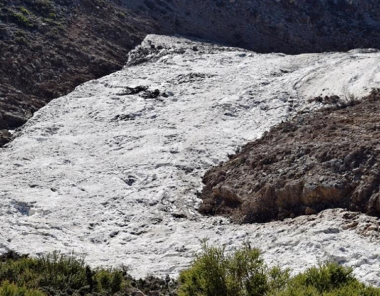 Κρήτη: Χιόνια ακόμη και τον μήνα Αύγουστο!