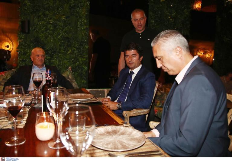 ΑΕΚ: Με Μελισσανίδη το δείπνο του Κωστένογλου στους παίκτες! Pics