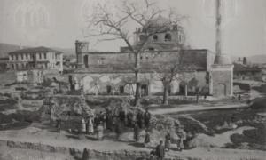 Θεσσαλονίκη: Σπάνιο ντοκουμέντο της Αγ. Σοφίας  πριν παραδοθεί στις φλόγες