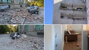 Σεισμός τώρα στην Αλβανία: Μετράνε τις πληγές τους οι γείτονες – Εκατοντάδες ραγισμένα σπίτια! video