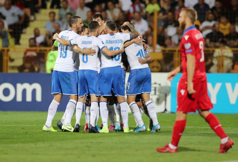 Ακάθεκτη η Ιταλία στον όμιλο της Εθνικής! Πέρασε απ'το Ερεβάν – videos