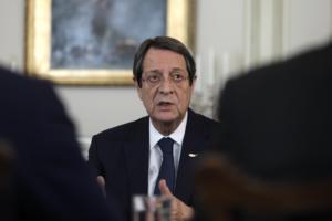 Νίκος Αναστασιάδης: Περιπέτεια στον αέρα για τον πρόεδρο της Κύπρου