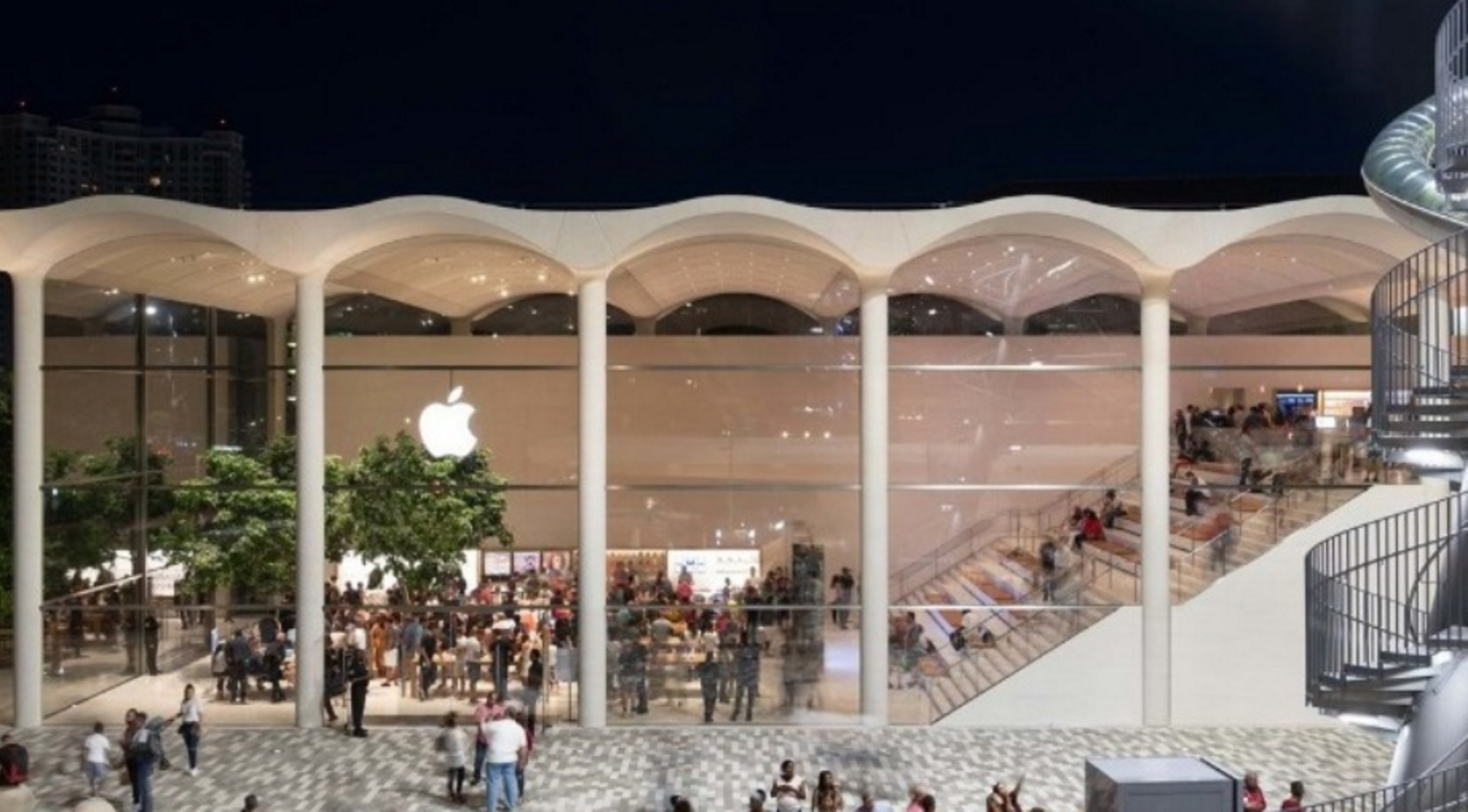 Apple Aventura: Το νέο εντυπωσιακό πολυκατάστημα της εταιρείας στο Μαϊάμι – video