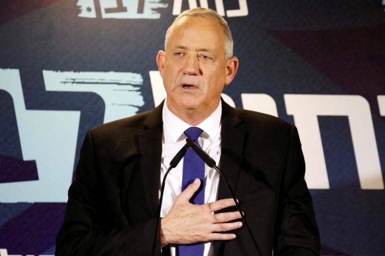 Ισραήλ: Ο Γκαντς θέλει να αναλάβει επικεφαλής σε κυβέρνηση εθνικής ενότητας