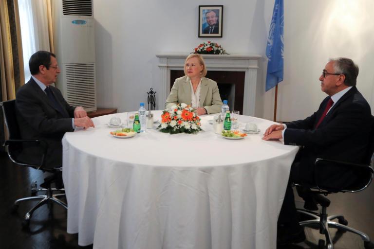 Αναστασιάδης μετά την συνάντηση με Ακιντζί – Λουτ: Δεν εγκαταλείπουμε την ελπίδα