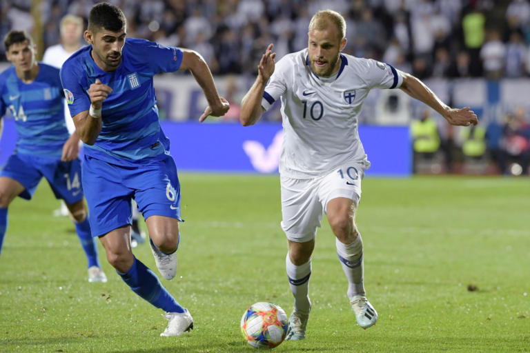 Φινλανδία – Ελλάδα 1-0 ΤΕΛΙΚΟ: Εύκολη ήττα στο Τάμπερε! Η εθνική αποχαιρετά το Euro 2020