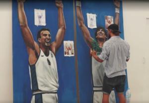 """Βρήκε νέα """"στέγη"""" το γκράφιτι του Γκάλη! Ο ρόλος του Παπαλουκά – video"""