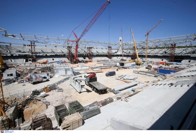 Γήπεδο ΑΕΚ: Ξεπερνάει τα 40 εκατ. ευρώ η κατασκευή της «Αγιά – Σοφιάς»