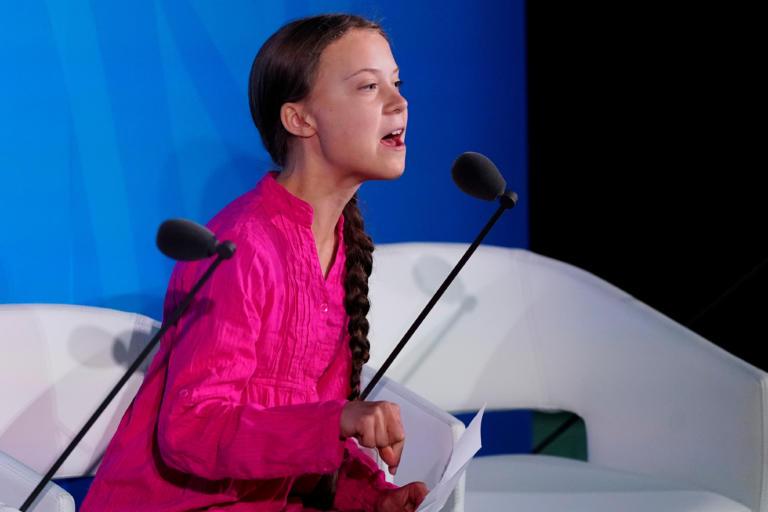 Γκρέτα Τούνμπεργκ: Μου κλέψατε τα όνειρα και την παιδική μου ηλικία