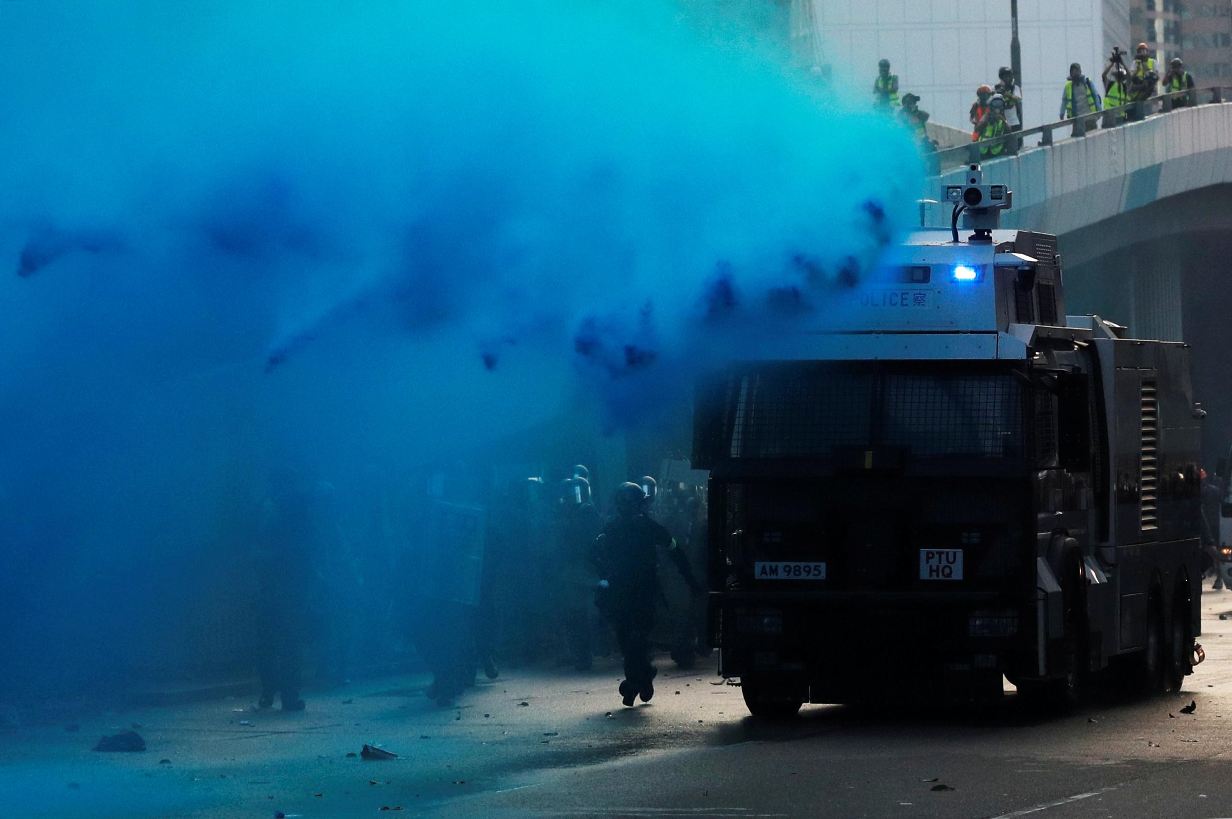 Χονγκ Κονγκ - διαδηλώσεις