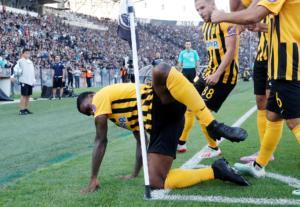 ΠΑΟΚ – Άρης: Και πάλι… προκλητικός ο Ιντέγε! Πανηγύρισε γκολ όπως με τον Ολυμπιακό – pics