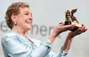 Η Τζούλι Άντριους βραβεύεται από το Αμερικανικό Ινστιτούτο Κινηματογράφου (AFI)