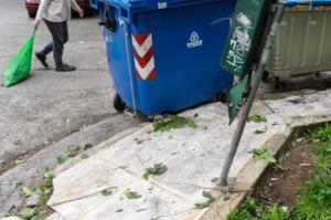 Αλεξανδρούπολη: Άνδρας βρέθηκε ζωντανός μέσα σε κάδο!