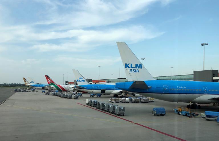KLM: Δεκάδες ακυρώσεις πτήσεων λόγω στάσης εργασίας του προσωπικού εδάφους