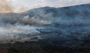 Μεγάλη φωτιά στην Κοζάνη – Μάχη και με εναέρια μέσα – video, pics