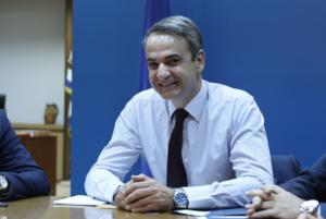 Μητσοτάκης – ακαδημαϊκός Ζερεφός για την κλιματική αλλαγή στην Ελλάδα!