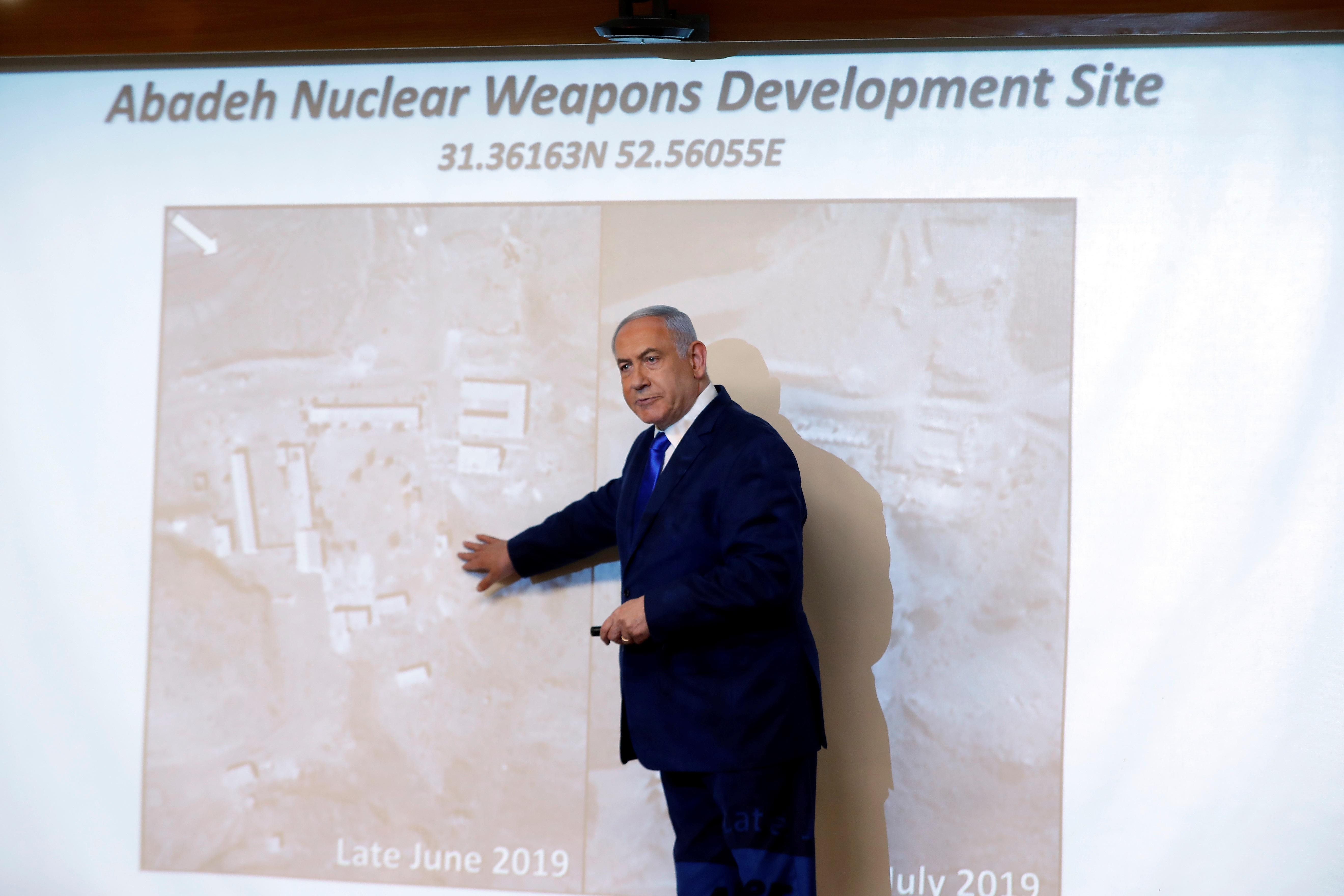 """Νετανιάχου: """"Η Τεχεράνη κατασκεύαζε πυρηνικά όπλα σε μυστική τοποθεσία""""!"""