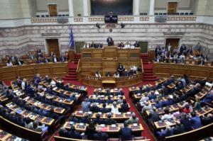 Βουλή: Ψηφίστηκαν από την Ολομέλεια οι τέσσερις συμβάσεις έρευνας και εκμετάλλευσης υδρογονανθράκων