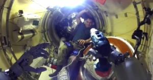 Ανθρωποειδές ρομπότ στον Διεθνή Διαστημικό Σταθμό – Πώς αντέδρασαν οι κοσμοναύτες – video