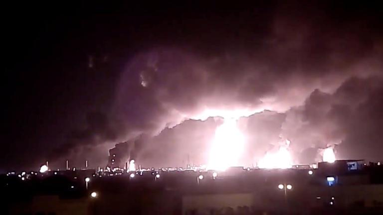 Οργή των ΗΠΑ για τον βομβαρδισμό εγκαταστάσεων της Aramco