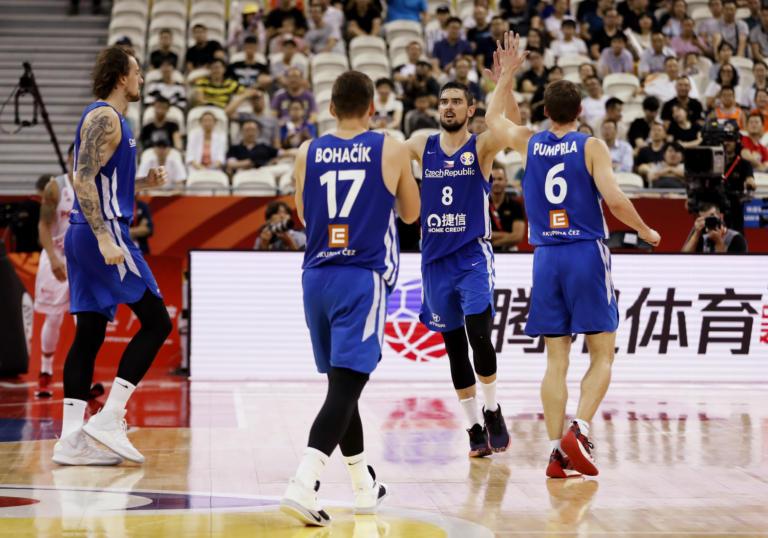 Ιστορική πορεία για Τσεχία! Θα διεκδικήσει την 5η θέση στο Μουντομπάσκετ 2019