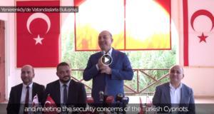 """Τσαβούσογλου – Αμμόχωστος: """"Μοιραστείτε το φυσικό αέριο προτού να είναι αργά…""""! video"""