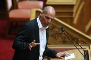 Βαρουφάκης: Αν δεν ηχογραφεί το Eurogroup ο Σταϊκούρας πρέπει να τον εγκαλέσετε
