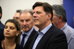 Συνάντηση Βαρβιτσιώτη με τον Υφυπουργό Εσωτερικών Γερμανίας