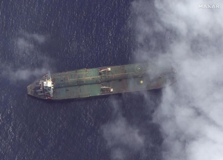 Adrian Darya 1:  Εντοπίστηκε από δορυφόρο ανοιχτά του συριακού λιμανιού Ταρτούς