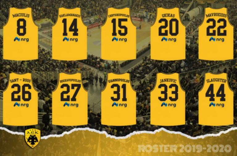 ΑΕΚ: Οι φανέλες των παικτών για τη σεζόν 2019-20! [pic]