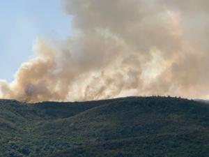 Μεγάλη φωτιά στο Αγρίνιο