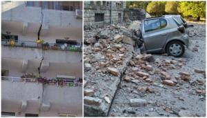 """Σεισμός τώρα στην Αλβανία: """"Άνοιξαν"""" κτίρια! Εικόνες και μαρτυρίες σοκ"""
