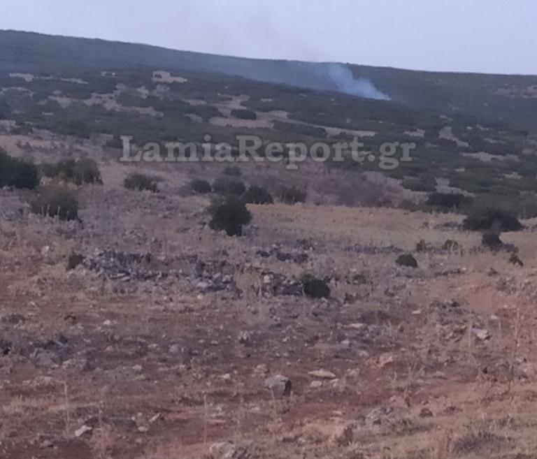 Φθιώτιδα: Φωτιά στο Νέο Μοναστήρι κοντά στα προηγούμενα καμμένα