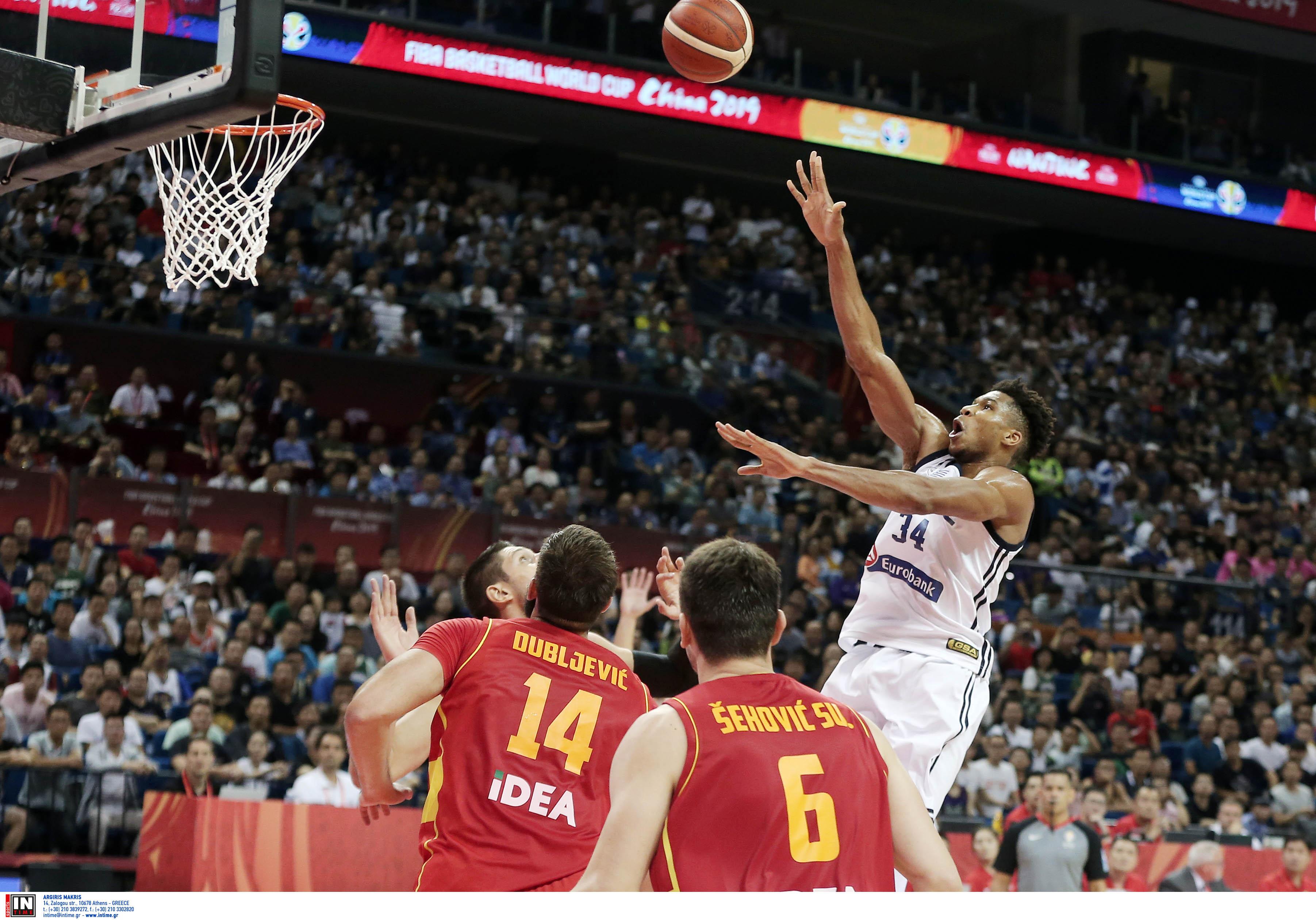 """Μουντομπάσκετ 2019: Τους """"τρέλανε"""" ο Αντετοκούνμπο! Στην κορυφή του Top 5 – video"""