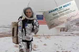 """""""Πόλεμος"""" για την ερευνήτρια Ελένη Αντωνιάδου! Απαντά με βραβείο της NASA"""