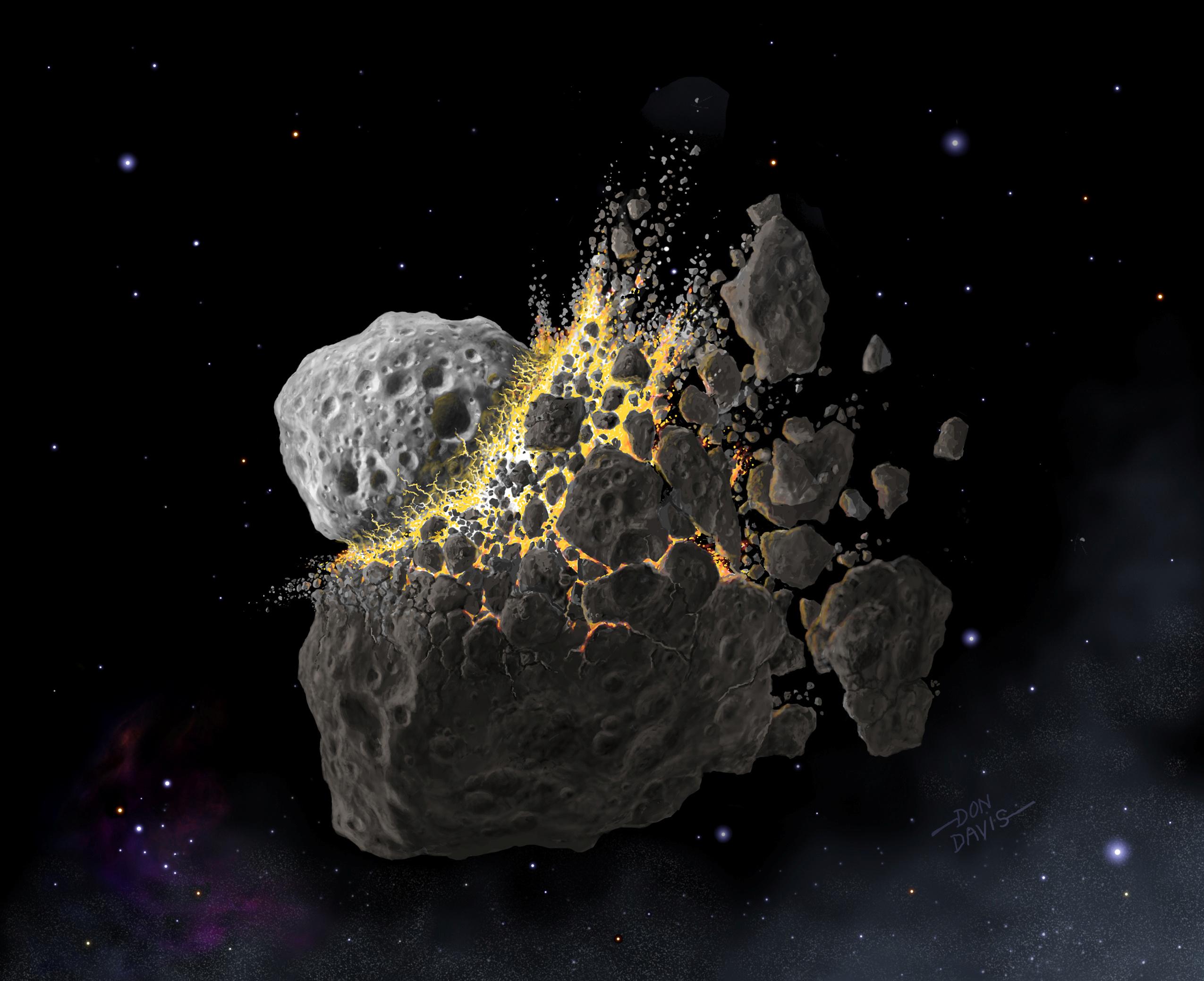 Άγιο είχαμε! Τελευταία στιγμή πήραν χαμπάρι στη NASA αστεροειδή που πέρασε πολύ κοντά από την Γη!