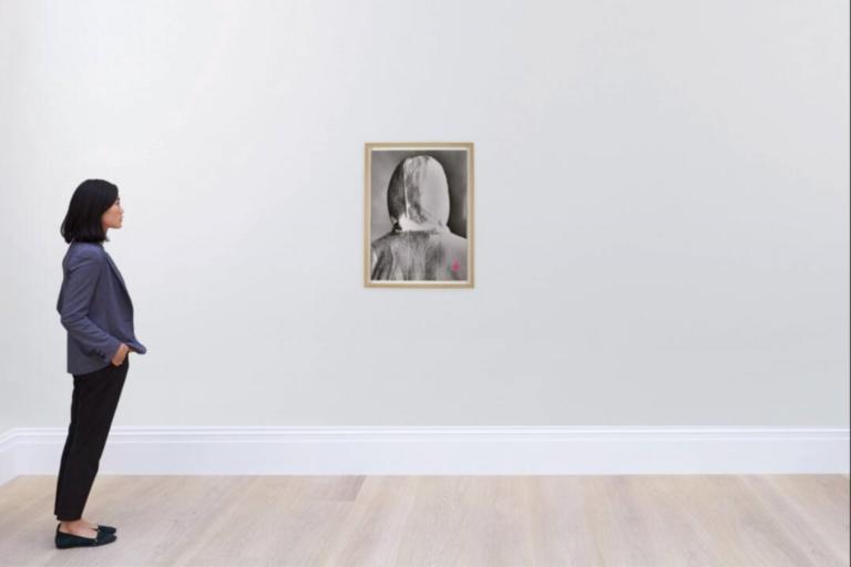Αστρονομικό ποσό για τη φωτογραφία που δείχνει το πίσω μέρος του κεφαλιού του Banksy