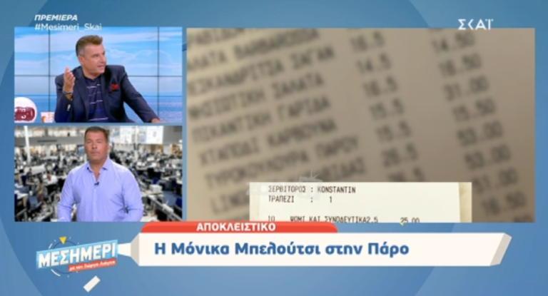 Ο υπέρογκος λογαριασμός της Μόνικα Μπελούτσι στην Πάρο – Λιάγκας: «Εκεί πάει η Τσιμτσιλή κάθε μέρα»!