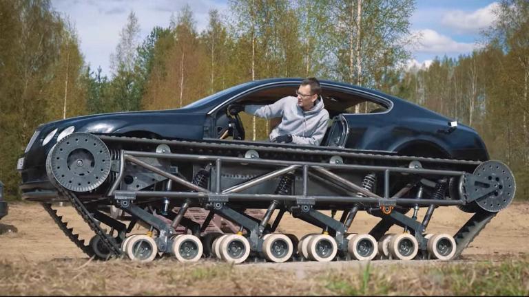 Αυτό είναι το πιο πολυτελές και πιο γρήγορο τανκ στον κόσμο [vid]