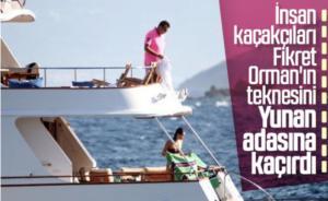 Δουλέμποροι έκλεψαν το σκάφος του Προέδρου της Μπεσίκτας!